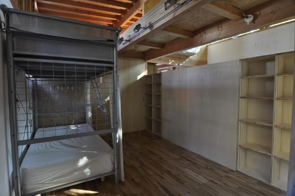 1000万円のハーフビルドの家 (ハーフビルドの家 寝室)