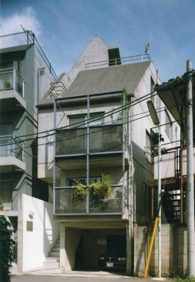 共同住宅形式とした2世帯住宅 (外観です。)