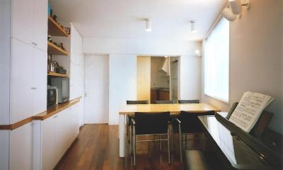 共同住宅形式とした2世帯住宅