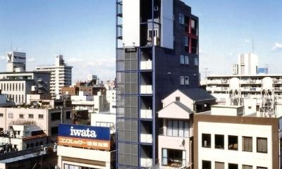 京葉道路の両国と錦糸町の間に建っています。|スタジオ鳥村ビル