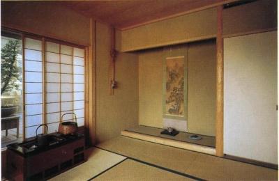 和室はこんな感じで、10階とは思えません。 (スタジオ鳥村ビル)