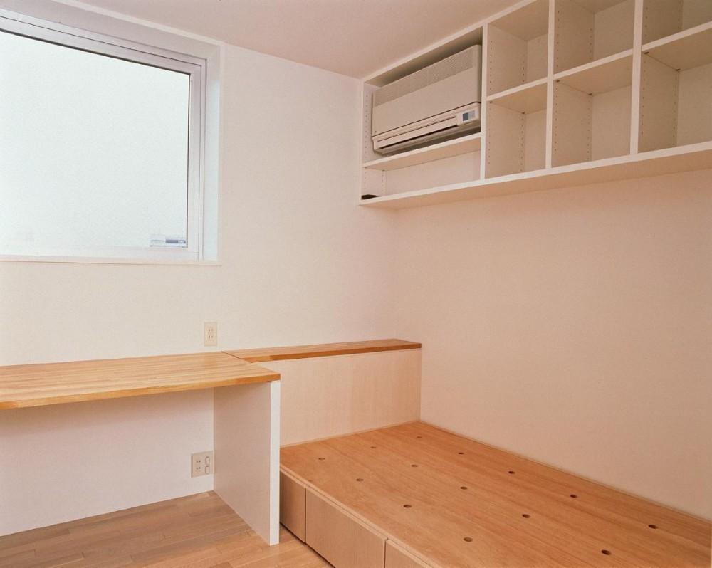 スタジオ鳥村ビル (8階にある子供室は最小限の大きさ。)
