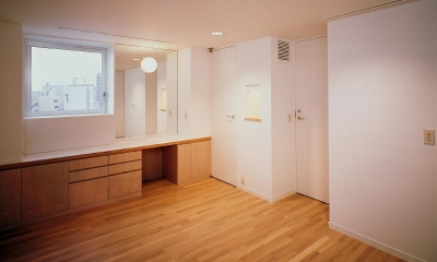 8階寝室です。|スタジオ鳥村ビル