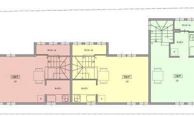 荻窪テラスハウス・アールグレイ (2階平面図)