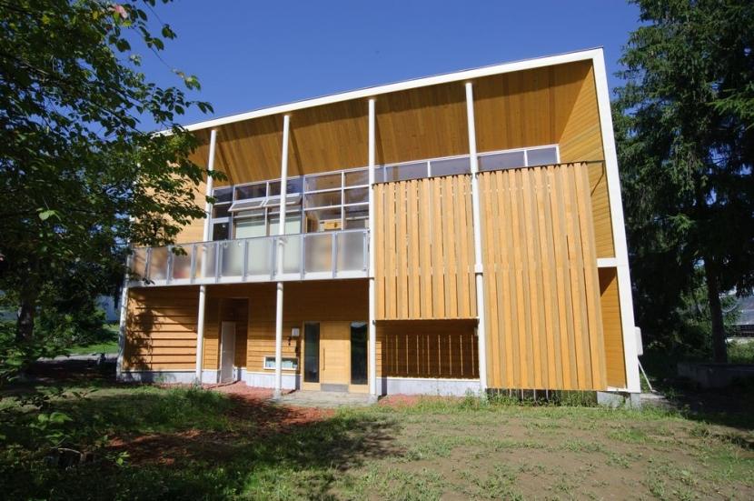 富良野の牧場に建つ 癒しの住まい F邸