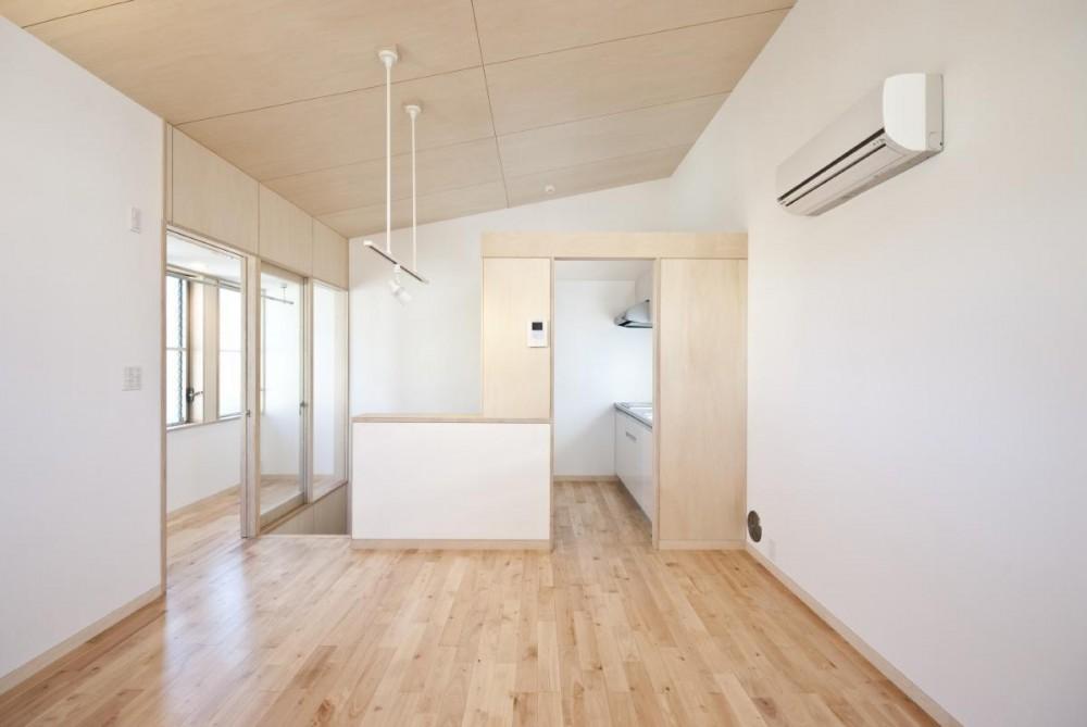 荻窪テラスハウス・アールグレイ (2階 のリビング・ダイニング・キッチンです。)
