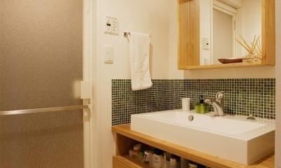 洗面|ネコも家族も心地よく暮らせる家