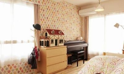 子ども部屋|ネコも家族も心地よく暮らせる家