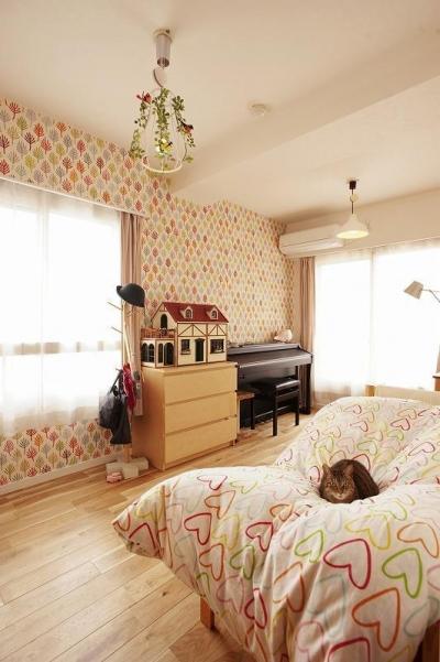 子ども部屋 (ネコも家族も心地よく暮らせる家)