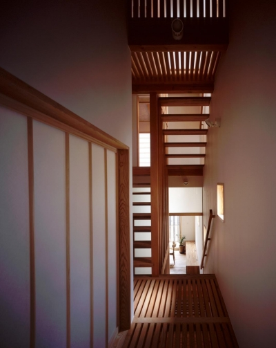 南城戸町の家 (階段)