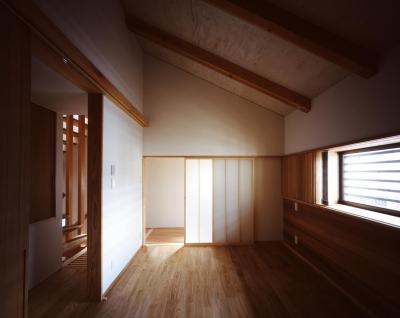 南城戸町の家 (寝室)