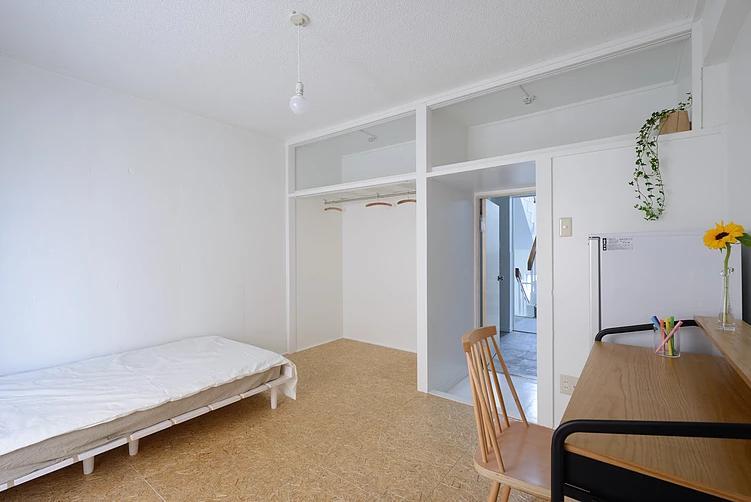 船橋のシェアハウスの部屋 個人スペース