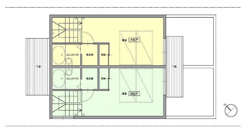 洋光台テラス (洋光台テラス 2階平面図)