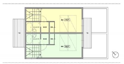 洋光台テラス 2階平面図 (洋光台テラス)