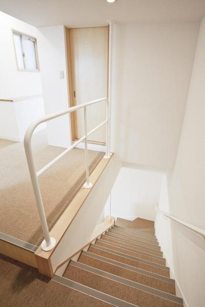 賃貸ビルリノベーション・NAOビル  階段 屋内 (賃貸ビルリノベーション・NAOビル)