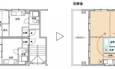 賃貸マンション リノベーション・3