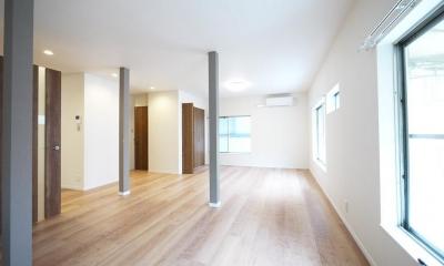 木造アパートを2LDKの一軒家へフルリノベーション