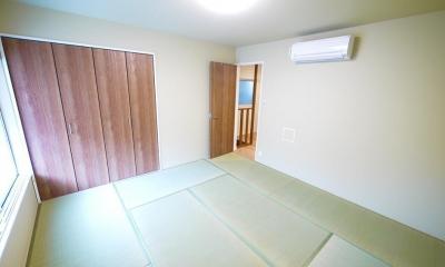 木造アパートを2LDKの一軒家へフルリノベーション (和室)