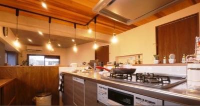キッチン (カフェ風住まいを楽しむ)
