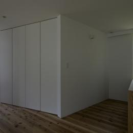 茅ヶ崎の家 寝室