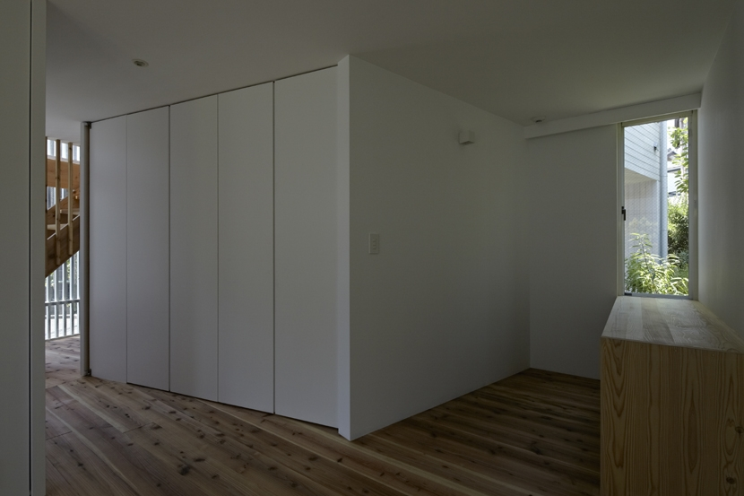 茅ヶ崎の家の部屋 茅ヶ崎の家 寝室