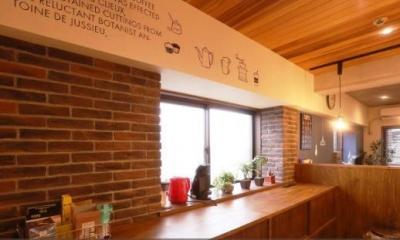 キッチン|カフェ風住まいを楽しむ