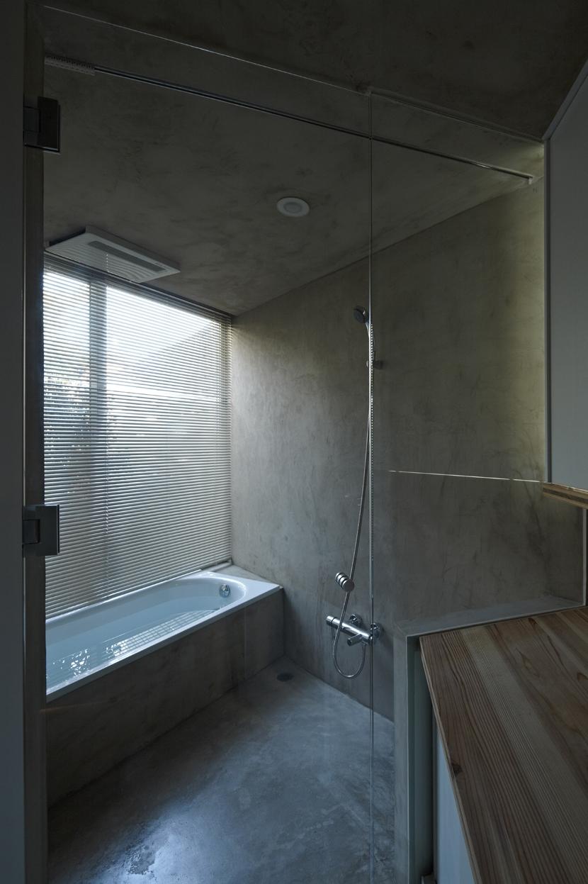 茅ヶ崎の家の部屋 茅ヶ崎の家 浴室