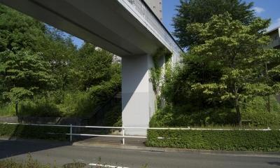橋台3|鶴牧西公園歩道橋