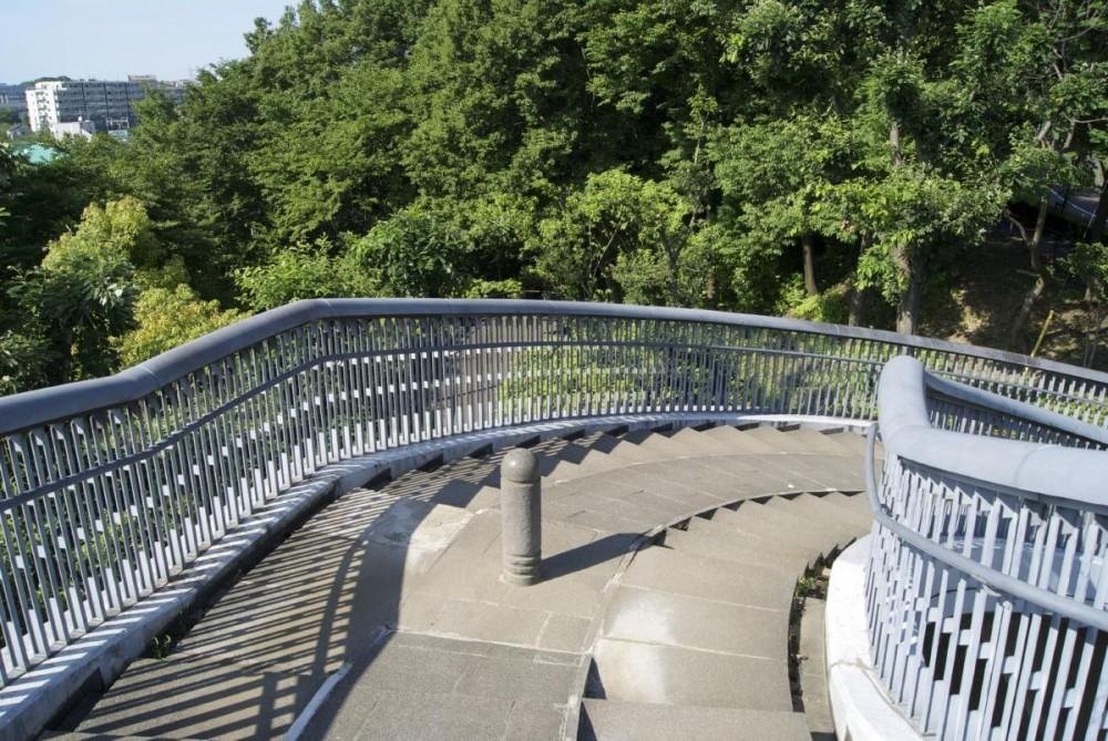 鶴牧西公園歩道橋 (手摺1)