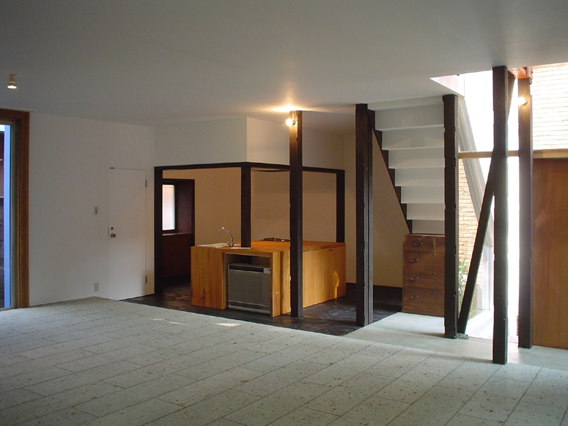 立川の家の部屋 立川の家