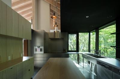 ヤマノイエ (森の中のキッチン)