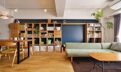 MUJIの家具で最初から計画する 子どもを見守る間取りと自然素材の家