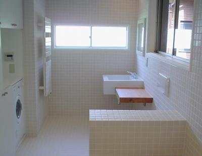 立川の家 浴室 (立川の家)
