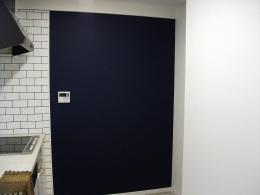 ビンテージマンション (キッチンにある黒板)