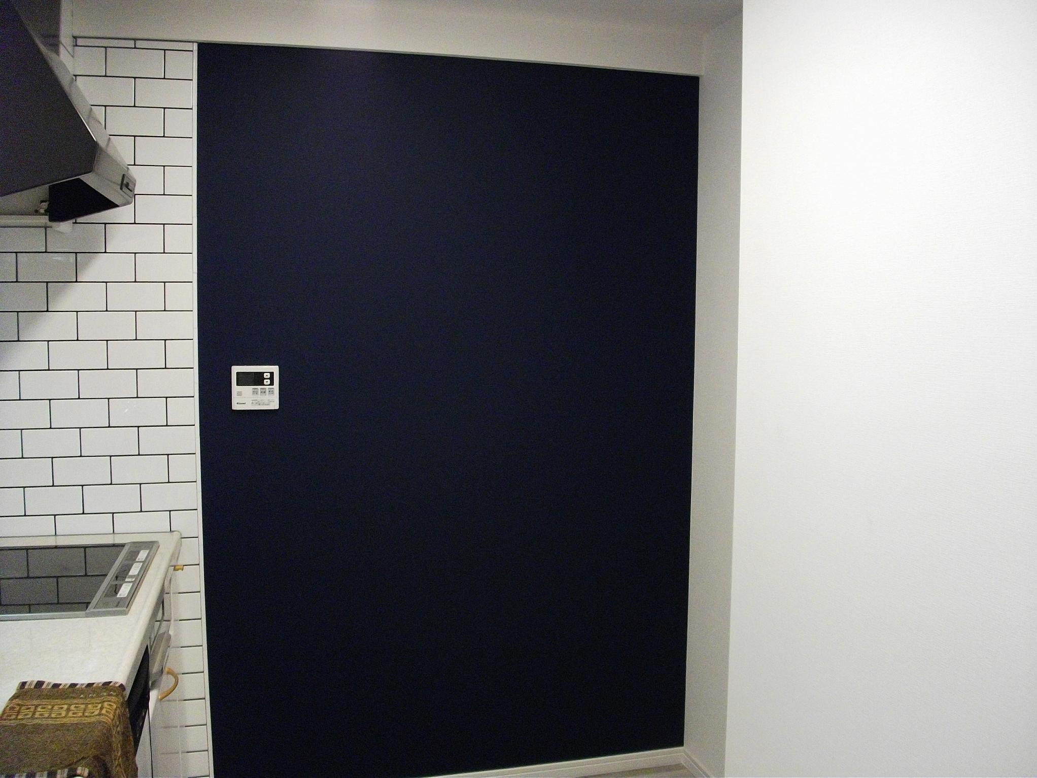 ビンテージマンションの写真 キッチンにある黒板