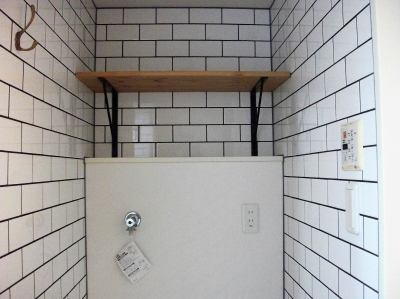 ビンテージマンション (洗濯機置き場)