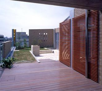 カーサカーラY邸の部屋 屋上庭園