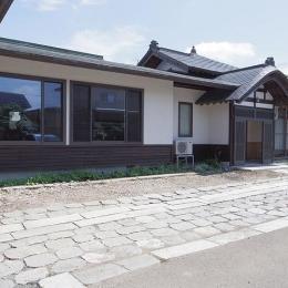 神山の家 (外観)
