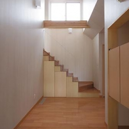 小坂渡ノ羽の家 (玄関ホール)