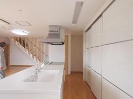 小坂渡ノ羽の家 (キッチン)
