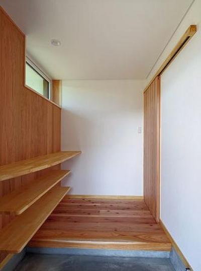 たつみの家 (玄関)