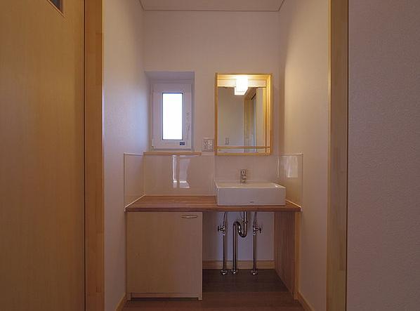 たつみの家の部屋 洗面台