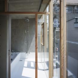 大岡山の家 浴室