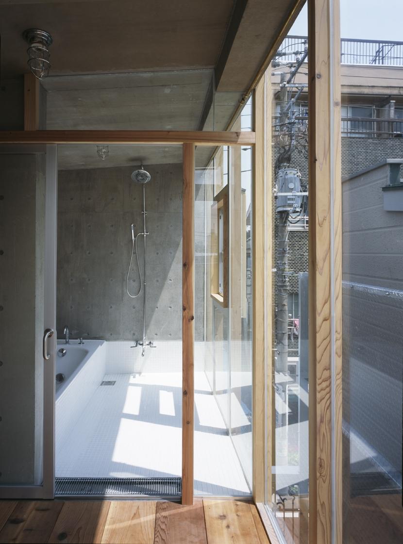 大岡山の家の部屋 大岡山の家 浴室