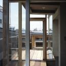 大岡山の家 テラス