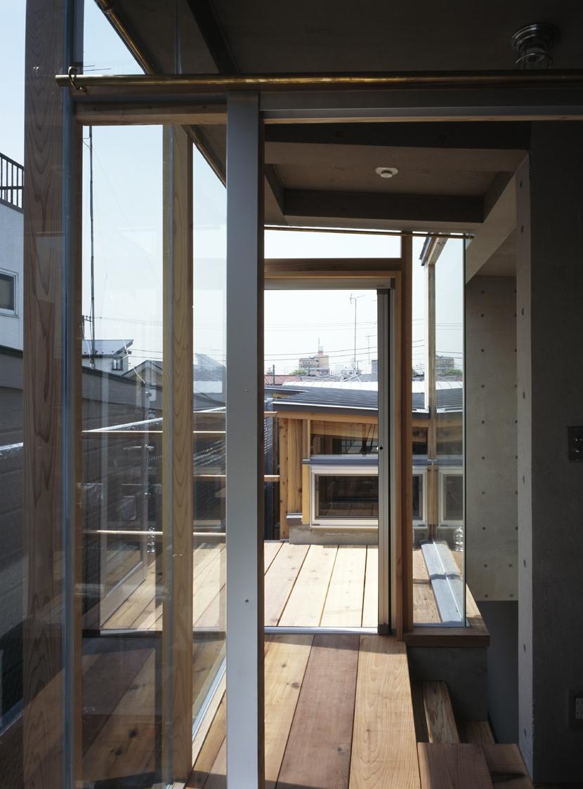 大岡山の家の部屋 大岡山の家 テラス
