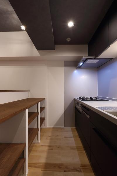 キッチンスペース (無垢材の温もりを感じる暮らし。)