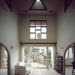 善福寺の家 (善福寺の家 リビングダイニング)