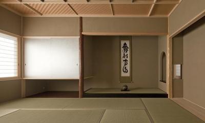落ち着きのある和室|T-house