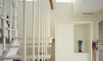 善福寺の家 (善福寺の家 階段)